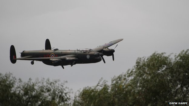 Lancaster at Durham Tees Valley Airport