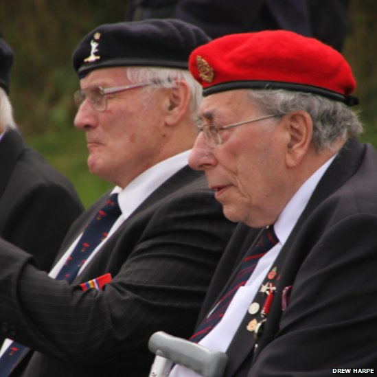 Veterans at Durham Tees Valley Airport