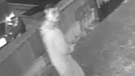 CCTV image of burglary suspect