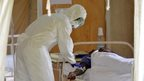 Doctor treating Ebola patient