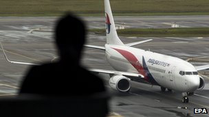 Malaysia Airlines plane