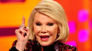 Joan Rivers in 2012