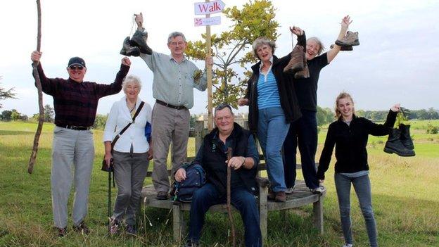 National Trust volunteers