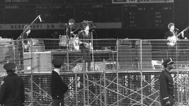 The Beatles at Candlestick Park