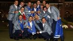 Europe's winning Ryder Cup team from 2012