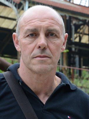 Retired miner Felipe Buron