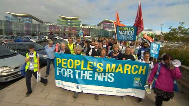March in Nottingham