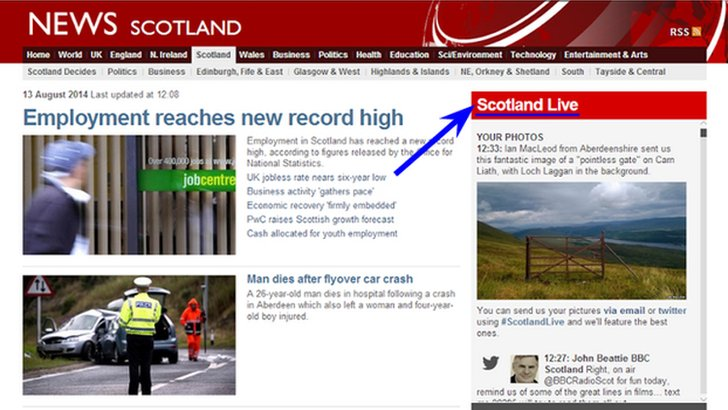 Scotland Live