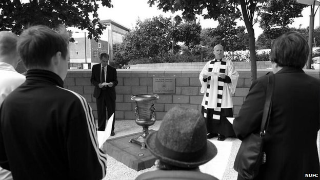 Memorial Garden unveiled