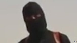 Jihadist shown in James Foley beheading video
