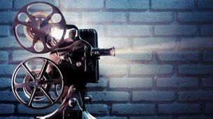 Cine film camera