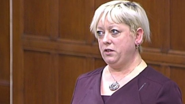 Conservative MP for Thurrock Jackie Doyle-Price.