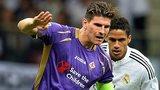 Fiorentina forward Mario Gomez