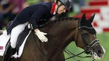 Charlotte Dujardin rides Valegro during the dressage at the World Equestrian Games