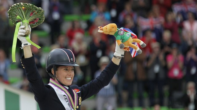 Charlotte Dujardin and Valegro win dressage world title