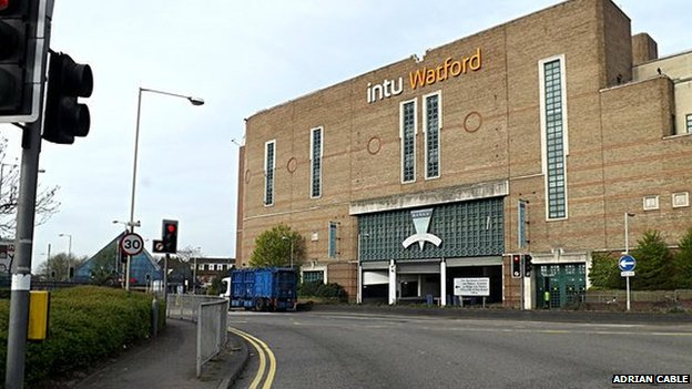 Intu shopping centre