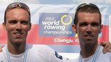 Peter and Richard Chambers won bronze at last year's world championships