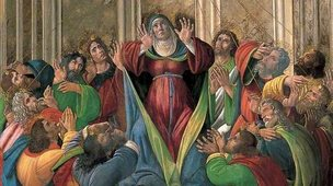 The Descent of the Holy Ghost, by Sandro Botticelli