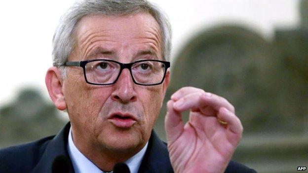 File photo: Jean-Claude Juncker, 4 August 2014