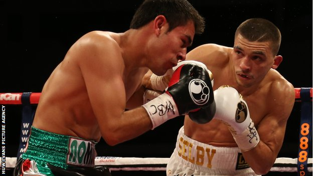 Lee Selby impressed with a comprehensive points victory over Romulo Koasicha