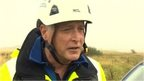 Coastguard manager Dave Brewer