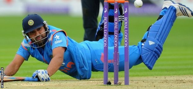 India's Rohit Sharma