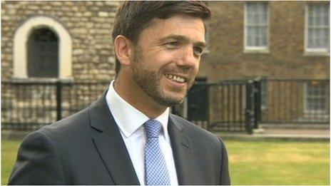 Stephen Crabb MP, Welsh Secretary