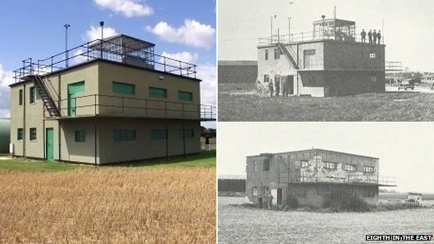 Parham airfield control tower