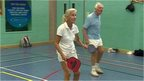 People playing Pickleball