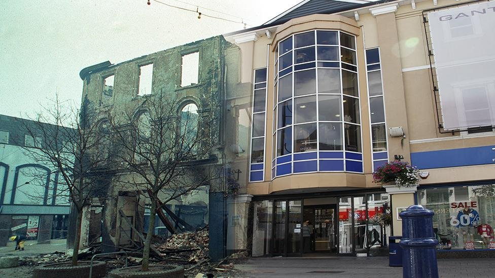 Coleraine then and now