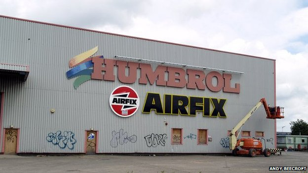 Former Humbrol site in Hedon Road in 2008