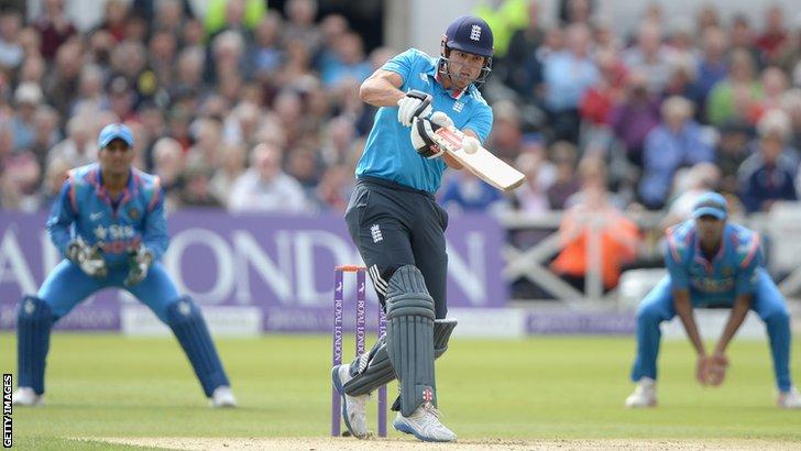 England captain Alastair Cook