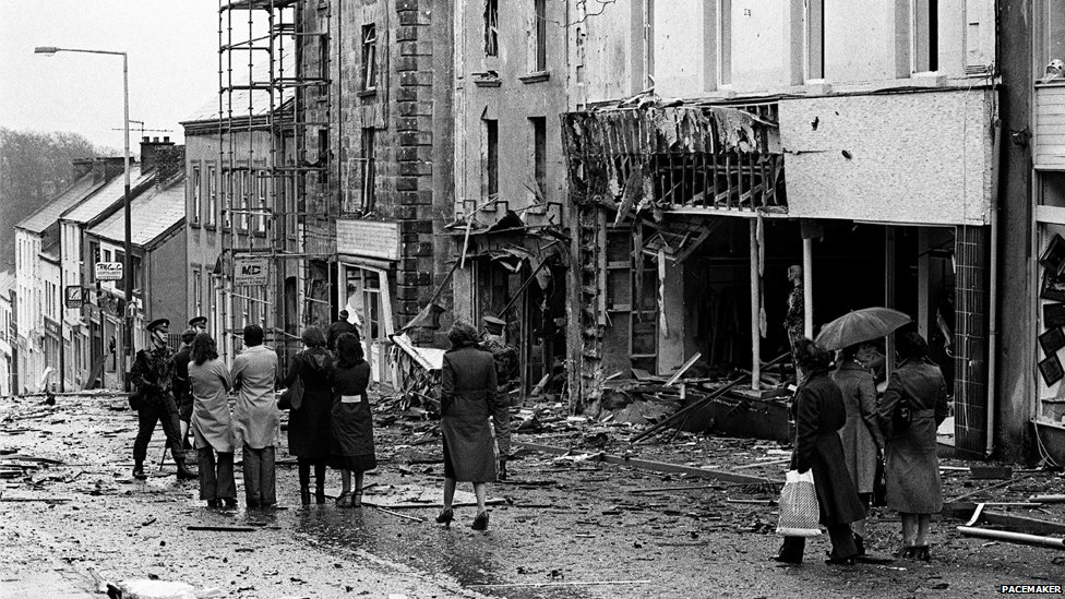 Dungannon after bombing