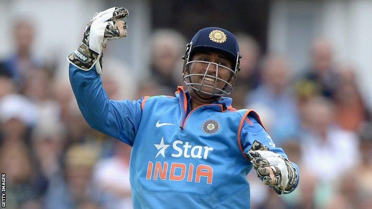 India's Mahendra Dhoni