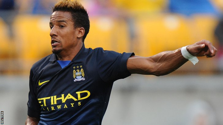 Manchester City's Scott Sinclair
