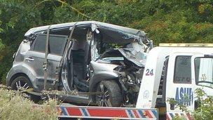 A20 fatal crash