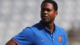Patrick Kluivert was assistant to the Netherlands manager Louis van Gaal at the World Cup