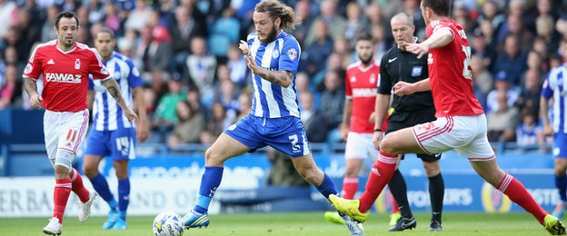 Stevie May of Sheffield Wednesday