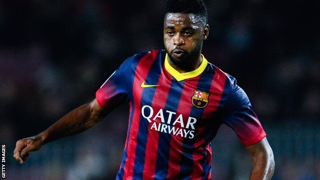 Alex Song spent five years at Arsenal before leaving in 2012