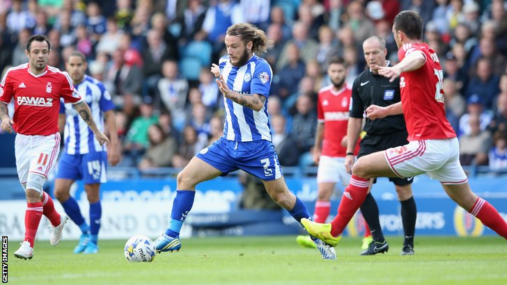 Sheffield Wednesday's Stevie May