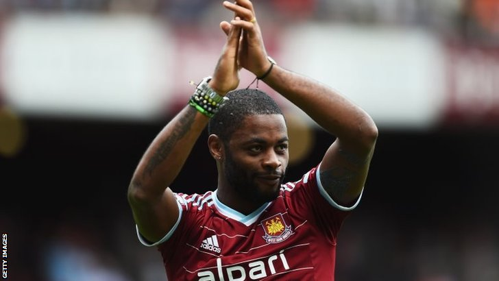 Alex Song is unveiled at West Ham