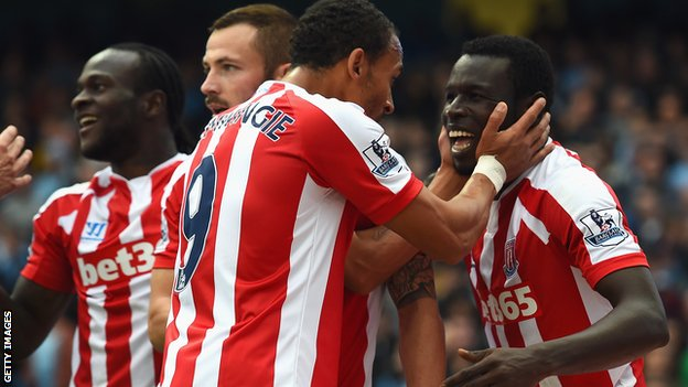Manchester City loses to Stoke City at Home