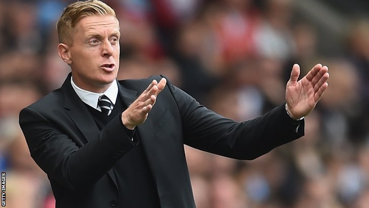 Garry Monk Swansea City manager