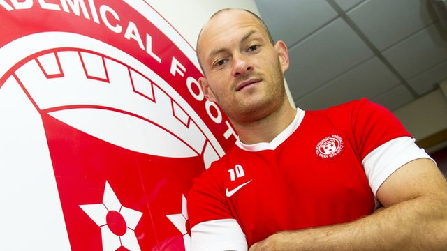 Hamilton Academical manager Alex Neil