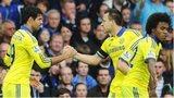 Chelsea celebrate goal
