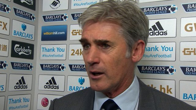 West Bromwich Albion head coach Alan Irvine