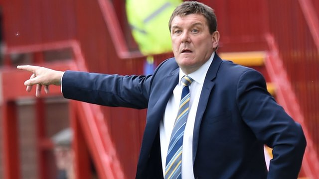 Saint Johnstone boss Tommy Wright
