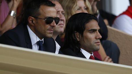 Monaco's Radamel Falcao looks set for Real Madrid move