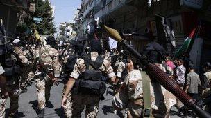 Palestinian Islamic Jihad militants