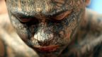 Tattooed gang member July 12 2006